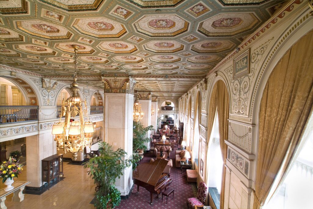 THe Brown Hotel Lobby